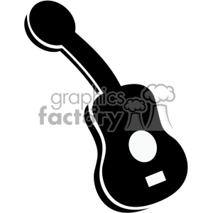 guitar vector icon clipart. Royalty-free image # 403219