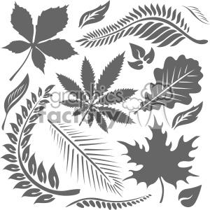 leaf bundle vector art