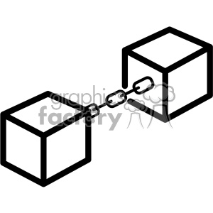 blockchain vector icon clipart. Commercial use image # 403832