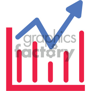 analysis chart going up vector icon clipart. Royalty-free image # 404045