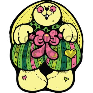 cartoon clipart bunny 012 c clipart. Royalty-free image # 404999