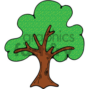 vector tree clipart clipart. Royalty-free image # 405207