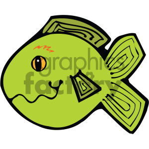cartoon vector fish 008 c