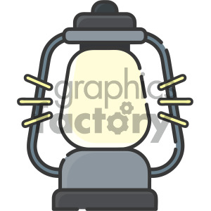 lantern vector royalty free icon art clipart. Royalty-free image # 405423