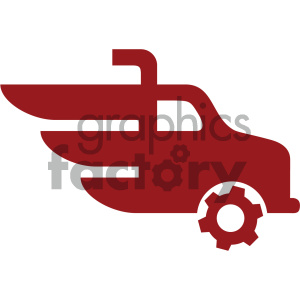 truck vector icon clipart. Royalty-free image # 405533