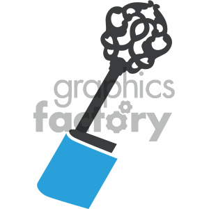 key to education book vector icon clipart. Royalty-free image # 405543