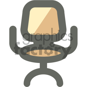 office chair furniture icon clipart. Royalty-free image # 405636