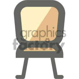 chair furniture icon clipart. Royalty-free image # 405652