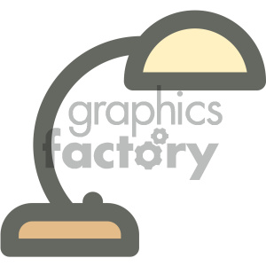 desk light furniture icon clipart. Royalty-free image # 405676