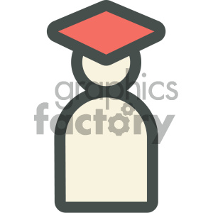 student education icon clipart. Commercial use image # 405708