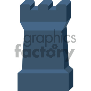 castle wall vector flat icon clipart. Royalty-free image # 405830