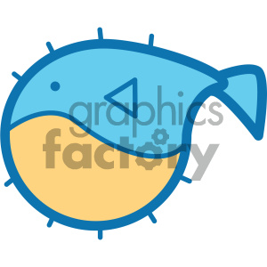 pufferfish ocean icon clipart. Royalty-free icon # 405932