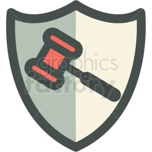 corporate law icon clipart. Commercial use image # 406297