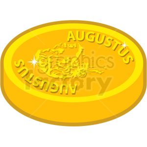 gold coin vector icon game art clipart. Commercial use icon # 406367
