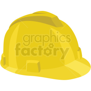 construction hard hat vector flat icon clipart with no background clipart. Royalty-free icon # 406680