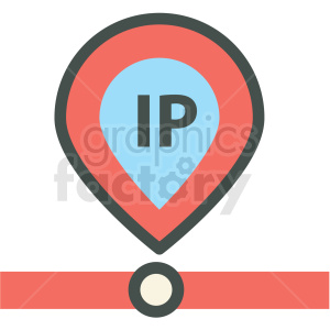 ip address web hosting vector icons clipart. Royalty-free icon # 406885