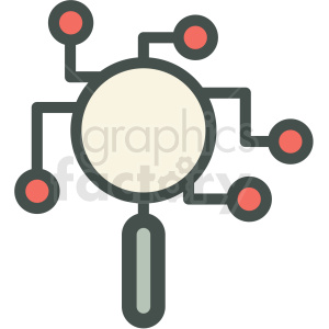 data research vector icon clipart. Royalty-free image # 406916