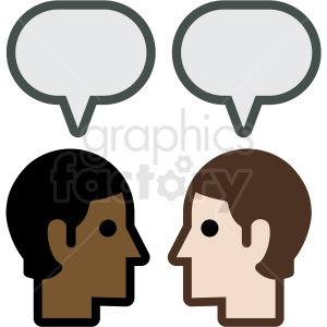 messaging apps vector icon clipart. Royalty-free icon # 406924