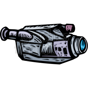 A Picture of a Video Camera clipart. Royalty-free image # 156313