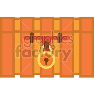 closed treasure chest vector game art icons clipart. Royalty-free image # 407106