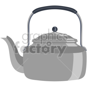tea pot flat icons clipart. Royalty-free image # 407176