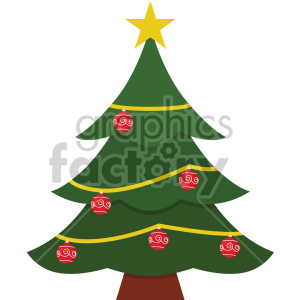 christmas tree icon clipart. Commercial use image # 407314