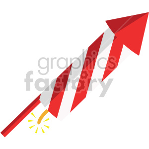 firework rocket no background clipart. Commercial use image # 407397