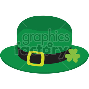 st patricks day leprechaun hat no background clipart. Commercial use image # 407669