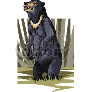 grizzly bear clipart. Royalty-free image # 129312