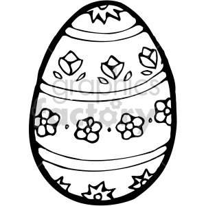 Easter Egg 03 clipart. Royalty-free image # 407842