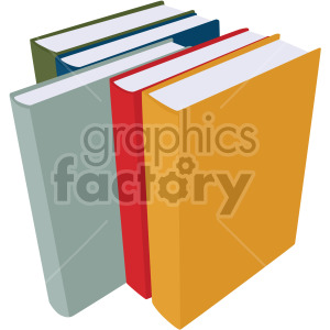 books no background clipart. Commercial use image # 408125
