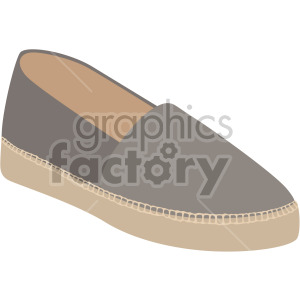 espadrille shoes clipart. Commercial use image # 408155