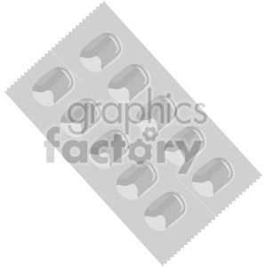 multi pill packaging no background clipart. Commercial use image # 408215