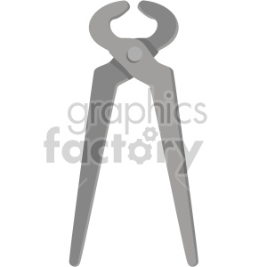 pliers no background clipart. Commercial use image # 408283