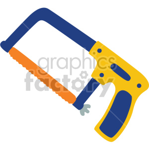 hacksaw no background clipart. Commercial use image # 408290