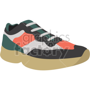 tennis shoe clipart. Commercial use image # 408329