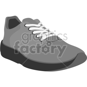 gray shoe clipart. Commercial use image # 408343