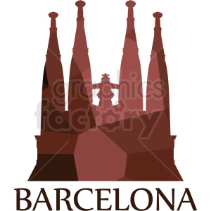 barcelona label vector clipart. Commercial use image # 408527