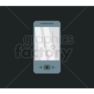 phone device vector design on black background clipart. Royalty-free image # 408690