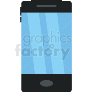 smartphone device vector clipart. Royalty-free icon # 408716