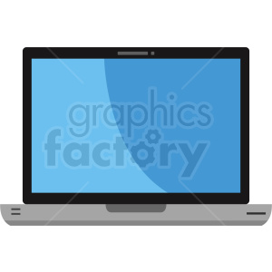 mac laptop computer vector clipart. Royalty-free image # 408722