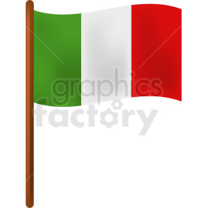 italy flag icon clipart. Commercial use image # 408762