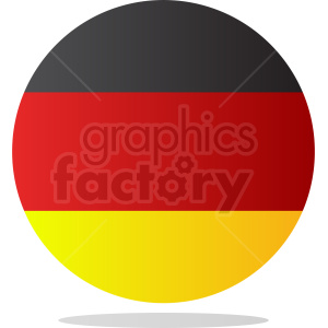 germany circle icon clipart. Royalty-free image # 408779