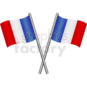 french flags vector icon