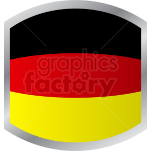 germany flag label design clipart. Royalty-free image # 408794