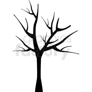 dead tree design clipart. Commercial use image # 408897