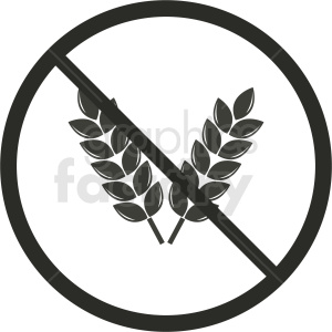 gluten free symbol no background clipart. Commercial use image # 408927