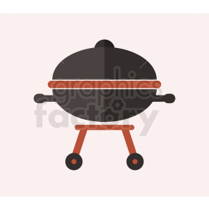 vector grill flat icon design light background clipart. Royalty-free image # 408964
