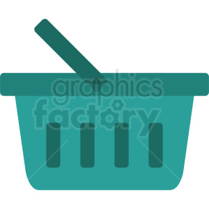 ocean blue picnic basket icon design no background clipart. Royalty-free image # 408984