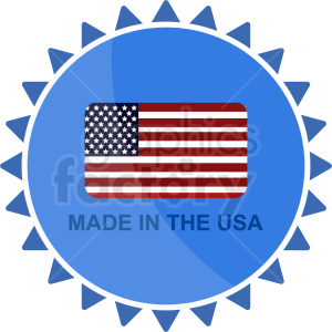 made usa icon clipart. Royalty-free image # 409040